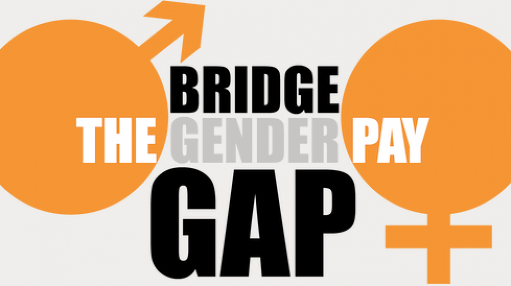 Bridge the Gender Pay Gap. Visit Visit - https://www.unison.org.uk/our-campaigns/bridgethegap/