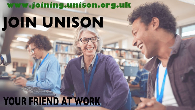 Join UNISON  - Your Friend at Work
